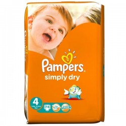 Couches pampers taille 4 456 couches active baby dry sur tooly - Couche pampers en gros allemagne ...