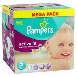 Maxi Pack de 322 Couches Pampers de la gamme Active Fit de taille 5 sur Tooly