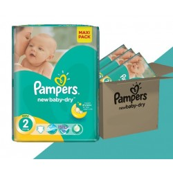 Mega Pack 320 Couches Pampers New Baby taille 2 sur Tooly