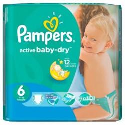 Pack de 36 Couches de la marque Pampers Baby Dry taille 6 sur Tooly