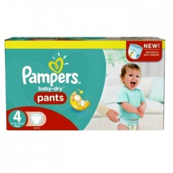 Pack économique 230 Couches Pampers Baby Dry Pants taille 4 sur Tooly