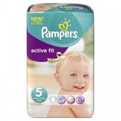 Pack de 23 Couches de Pampers Active Fit de taille 5 sur Tooly