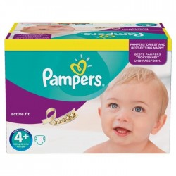 Couches pampers taille 4 76 couches active baby dry sur tooly - Couche pampers en gros allemagne ...