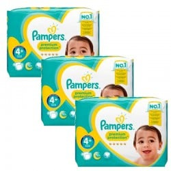 Couches pampers taille 4 active fit sur tooly - Couches pampers active fit taille 4 giga pack ...