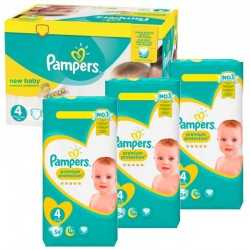 Couches Pampers Taille 4 Pas Cher